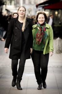 Sofie Jupiter och Ulrika Josephsson, foto: Urban Jörén